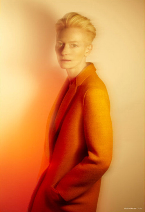 Everything about her is awesome. Tilda Swinton Photos courtesy of The Room