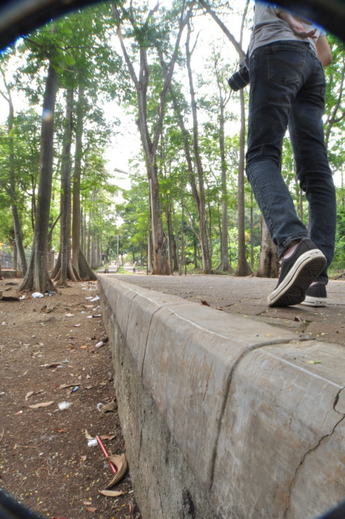 My Way  model : @nindyanata Location : University of Indonesia