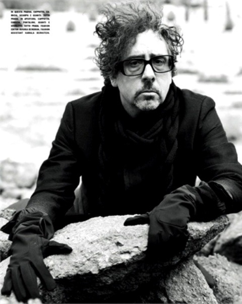 Tim Burton for Vogue