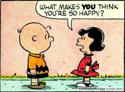 comicallyvintage:  What Makes You Think You're So Happy?