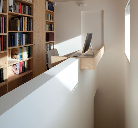 narrow house | stairwell ~ seth stein architect
