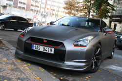 automotivated:  Prague Nissan GTR  (by BerlinRichStreets)