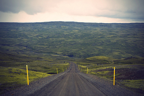 icelandpictures:  On the road again.