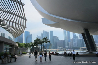Singapore's Iconic ArtScience Museum.  Read more.