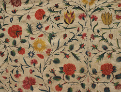 ailailail:  Embroidery by French nuns c. 1790.