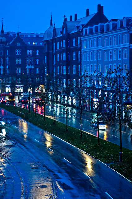Rainy Copenhagen, Denmark (via Julie Grath)