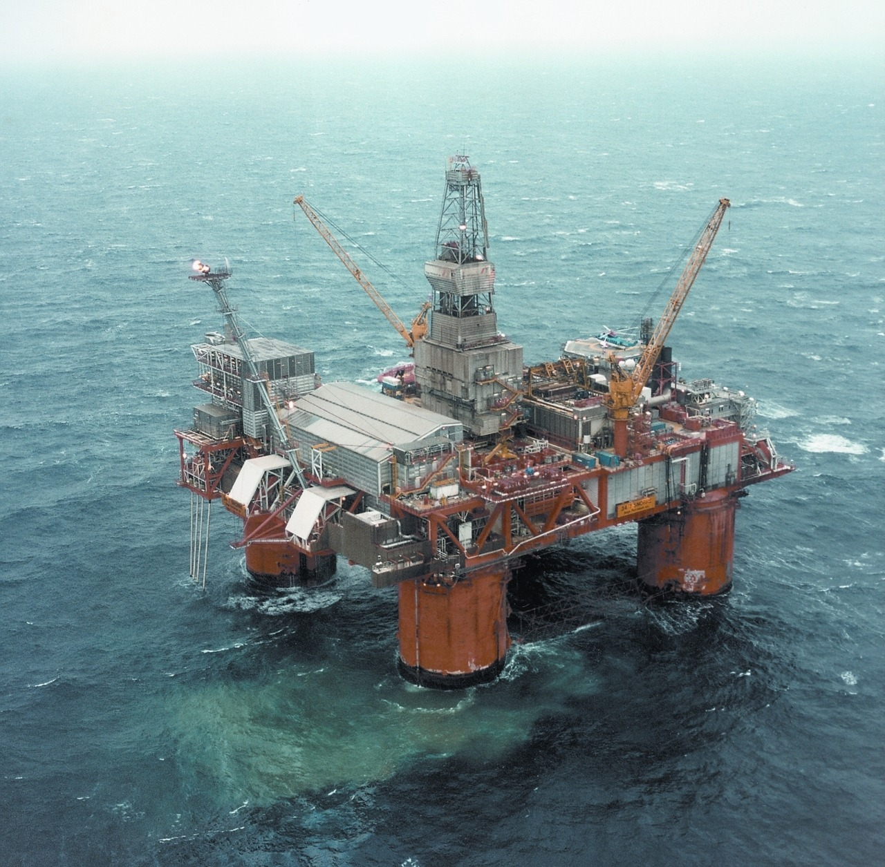 snorre oil field, norway    info