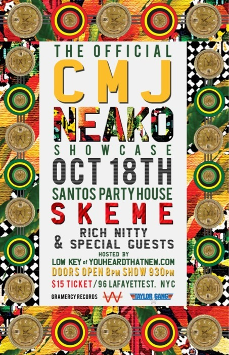 TOMORROW NIGHT !!!!! @NEAKO WILL BE PERFORMING AT SANTOS WITH SPECIAL GUESTS..96 LAFAYETTE ST., NEW YORK, NY !!!!!!!