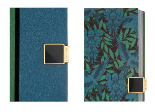 A very splurge-y but beautiful diary by Jonathan Saunders for Smythson. $515, netaporter.com