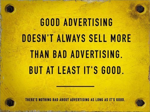 Difference Between Good And Bad Advertising