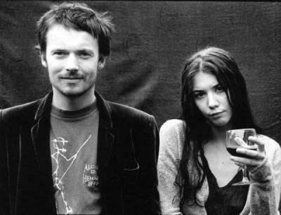 Damien Rice & Lisa Hannigan. (photographer unknown)