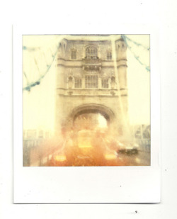Tower Bridge Polaroid (by Pete Woolven)