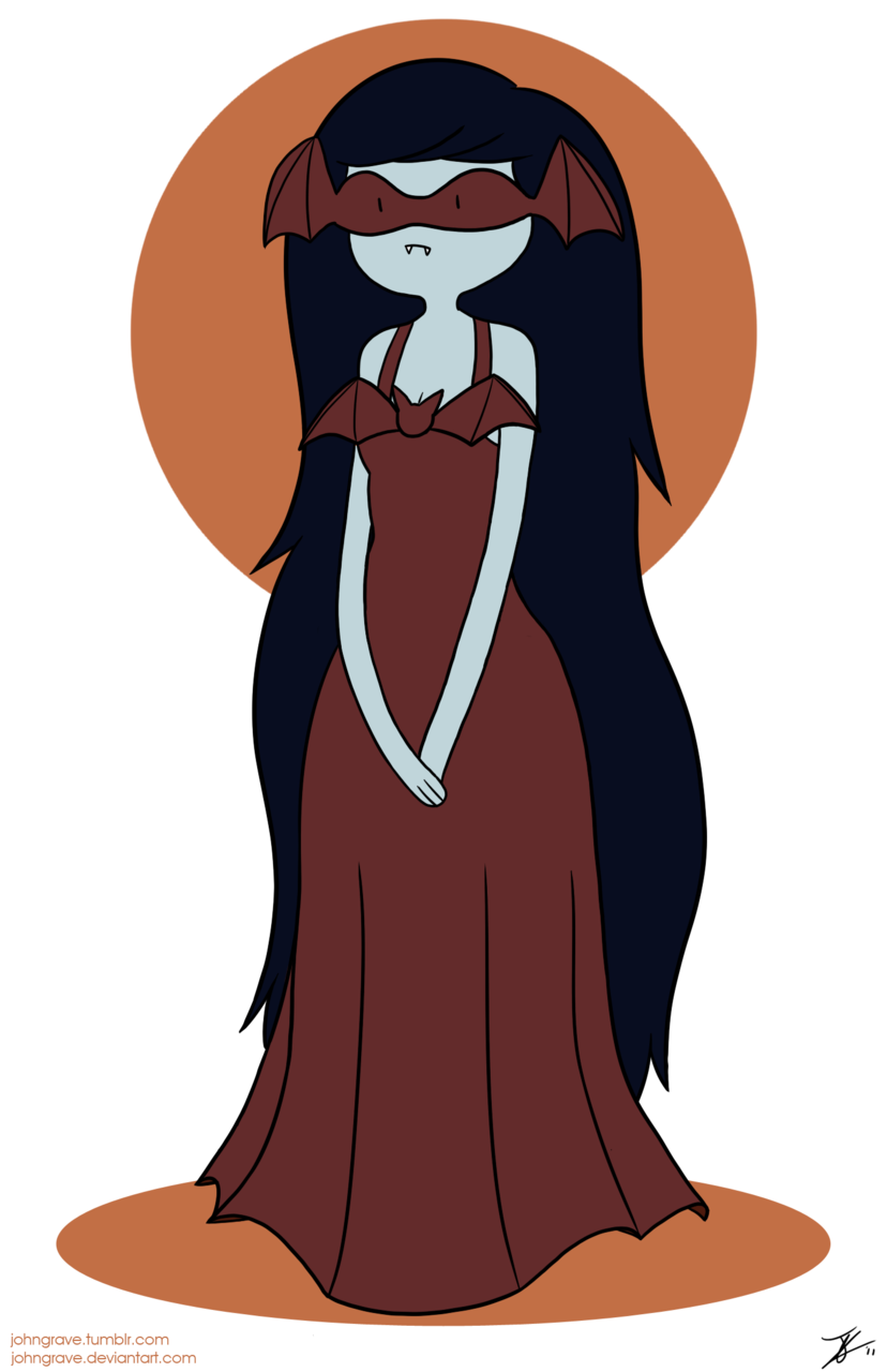 "Marceline if she would've been featured in ""The Creeps"". submitted by johngrave"