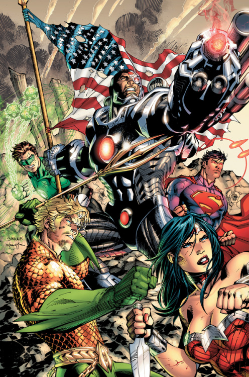 dcuniversepresents:  JUSTICE LEAGUE #5  by JIM LEE