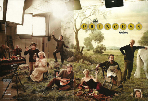 The cast of 1987 film The Princess Bride reunite for an EW photoshoot. Inconceivable! (Via FilmDrunk)
