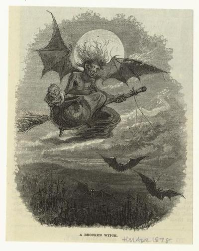 A Brocken witch  1878