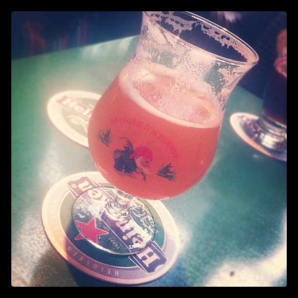 La Chouffe, from last week.