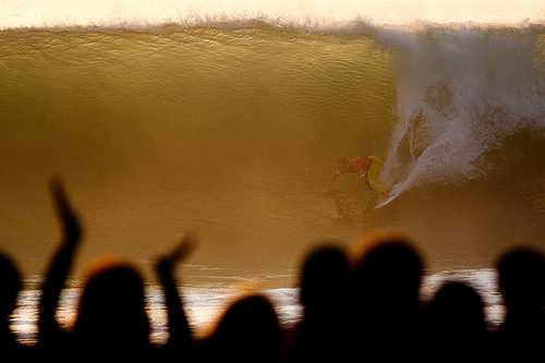 Mick Fanning in the currently-running Rip Curl Pro Peniche. Photo: Cestari/ASP (by Rip Curl)