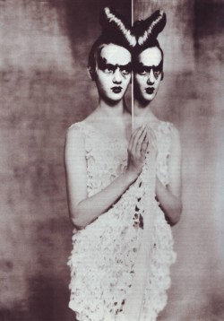 AtelierVogue Italia, March 1999Photographer: Paolo RoversiChristian Lacroix, Spring 1999 Couture