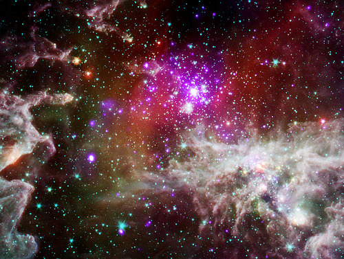 executions:  The 'Pacman Nebula' by NASA's Marshall Space Flight Center