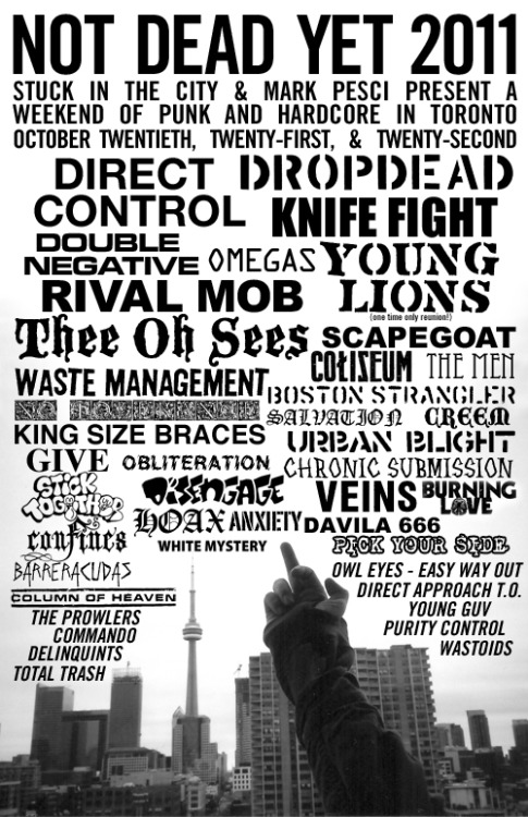 Boston in Toronto fest 2k11. This weekend.