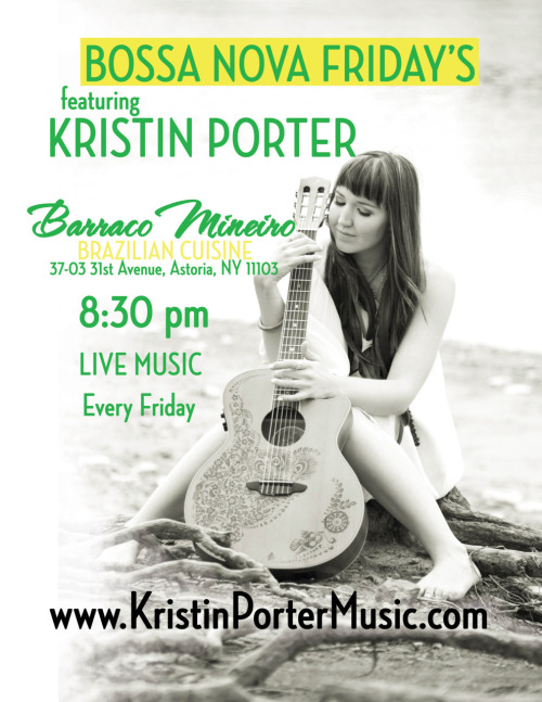 Come see me 8:30pm, every Friday night! Great food, great atmosphere, no pressure …Free Cover!