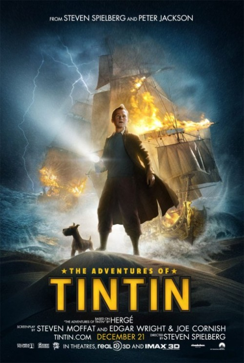 fuckyeahmovieposters:  The Adventures of Tintin: The Secret of the Unicorn