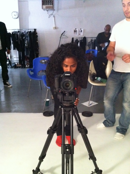 tabibonney:  Director Vashtie…from my view #theSummerYears  What?? Vashtie and Tabi Bonney teaming up? This should be goooooddd!