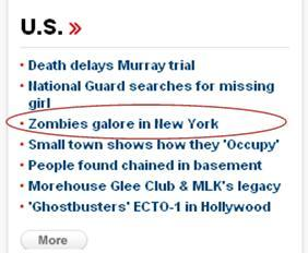 Nice work CNN. Either you're writing sensational headlines, or you need work on prioritizing the order of your news stories.