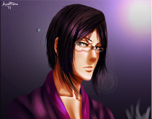 Latest art, a speed painting I did in about three hours, Ishida from Bleach after his shower in the morning of course with some tea! Delish~! I'll get some sketches up soon and art I did but never posted. Sounds like a good place to start!