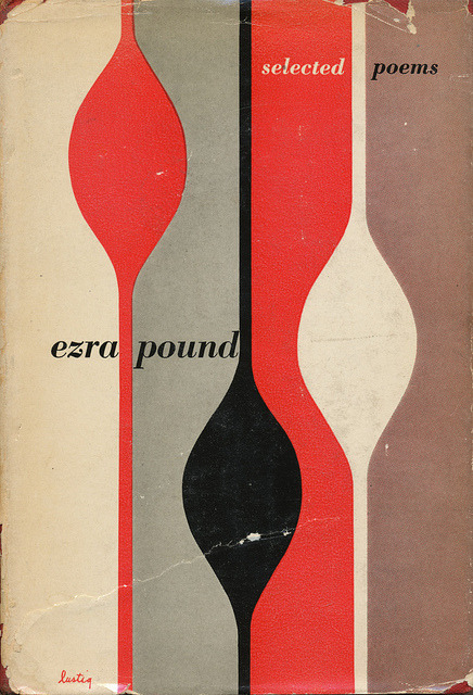 anticipatedstranger:  Ezra Pound Selected Poems book cover by Alvin Lustig via Scott Lindberg on Flickr.