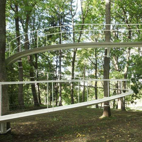 Walkway by Tetsuo Kondo Architects located in Estonia. +info via: not-right-now
