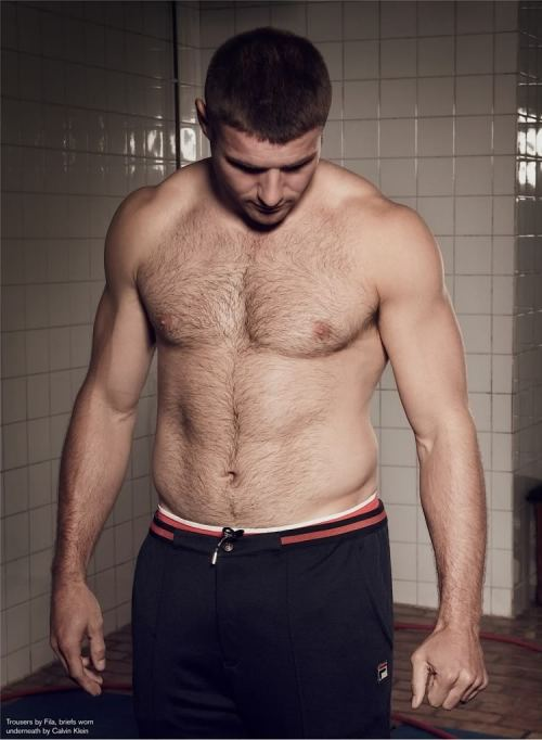 Ben Cohen for Attitude Magazine I'd link the website, but for being such an awesome publication, Attitude's website is quite the horrible mess.