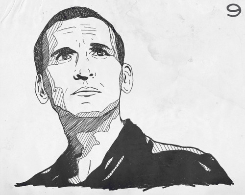 somegoblins:  ninth doctor by 266aline on Flickr.