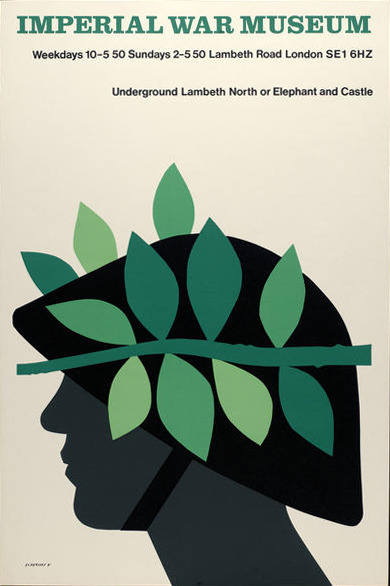 Imperial War Museum: Tom Eckersley poster design, via ISO50.