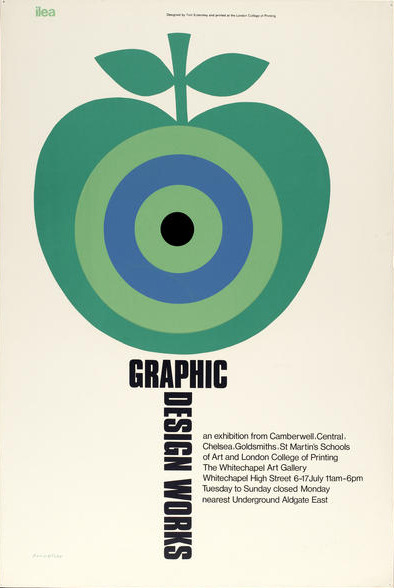 Tom Eckersley poster design, via ISO50.
