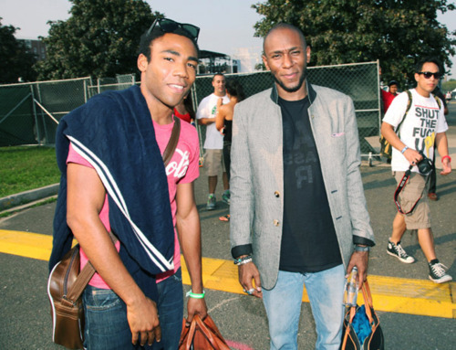 awesomepeoplehangingouttogether:  Donald Glover and Mos Def