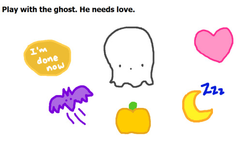 Javascript Ghost Game If you have nothing better to do you should play the javascript game I made a few weeks ago. :D Click the image or go here to play~ (I think it only works in firefox though.. D: )