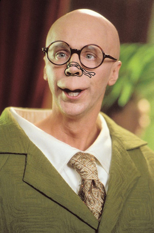 Dana Carvey Teenage Mutant Ninja Nose