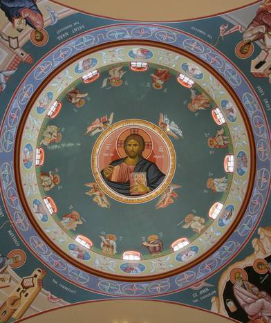 Dome of St. Andrew Orthodox Church in Riverside, California. Photo: David Bauman, Press Enterprise.