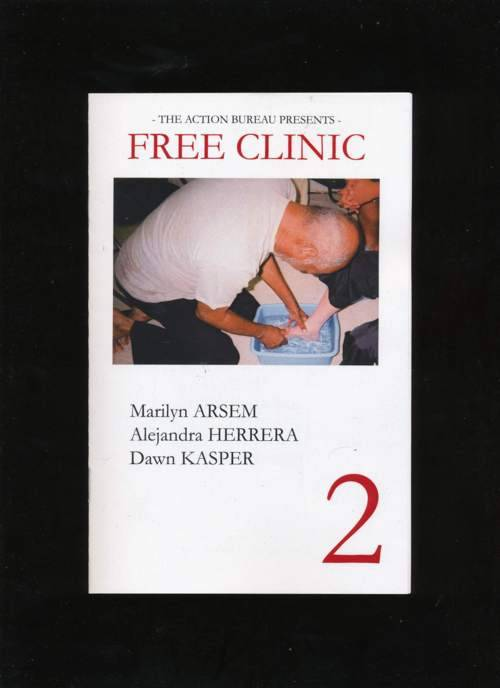 Free Clinic #2 - Zine cover