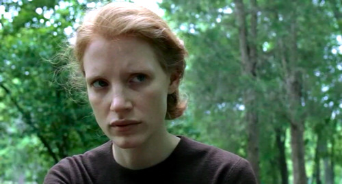 Jessica Chastain in Tree of Life (on third viewing finally fully appreciate her greatness in this, and my God just take in that look)