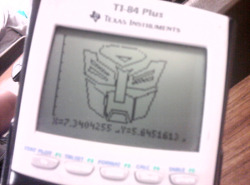 submission from sh-e-l-ley, who says:  I drew this on my ti-84 during math class today.