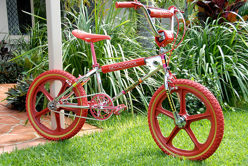 BMX love - 1982 Mongoose Supergoose BMX (by KDFKID)
