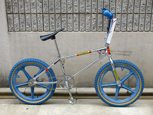 BMX love - Mongoose / 1978 Replica BMX (by yymkw)