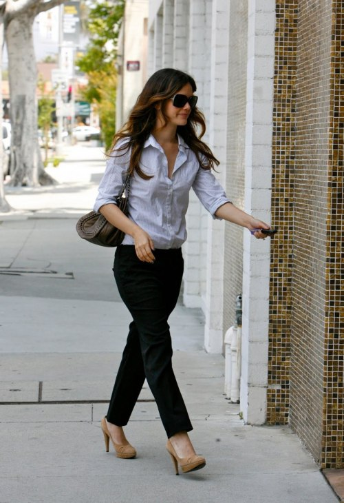Office Wear…  Rachel Bilson