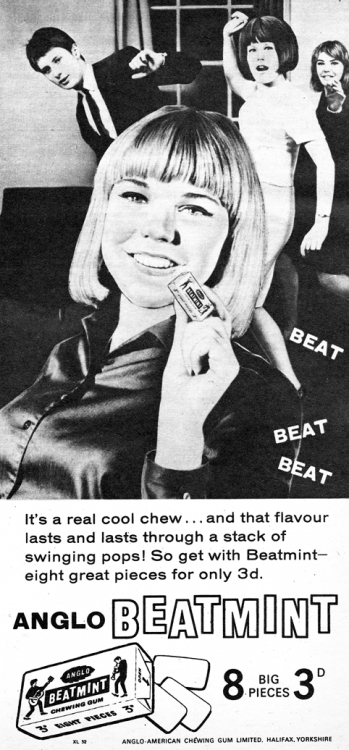 hollyhocksandtulips:  Beatmint, 1964