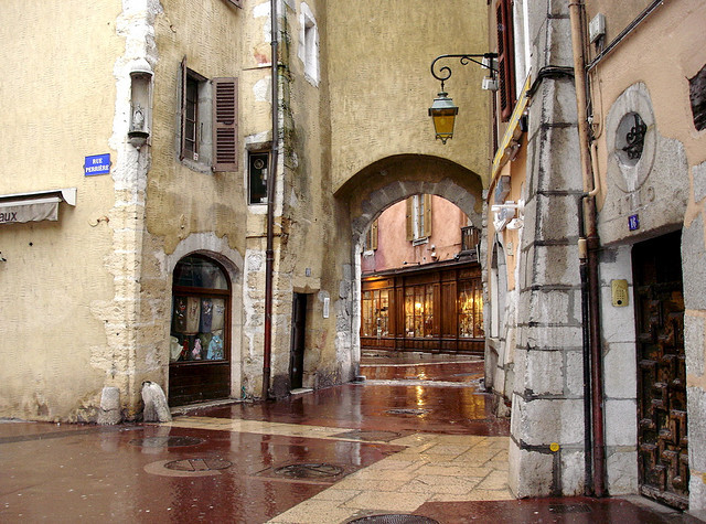 | ♕ |  Rainy day in Annecy  | by © Michele*mp | via ysvoice