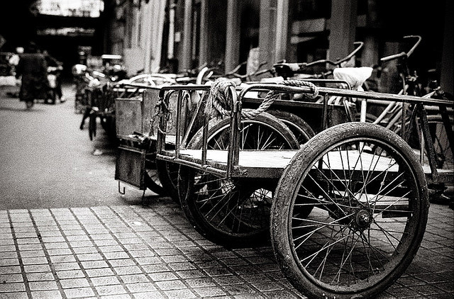 Tricycles by Rob-Shanghai on Flickr.