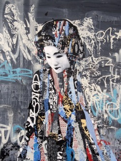 endofremission:  Graffiti by Hush